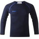 Bergans Akeleie Youth Shirt Navy/Warm Cobalt